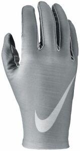 Nike-Pro-Chaud-Hommes-Couche-de-Base-Gants-Ski-Hiver-Sports-Gris