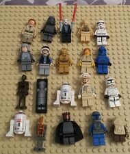 LEGO STAR WARS MINIFIGURES  LOT OF TWENTY