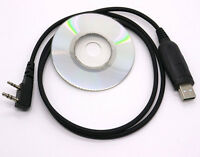 Usb Programming Cable&software For Baofeng Uv-5r/3r+ Uv-82 L Gt-3 Two-way Radios