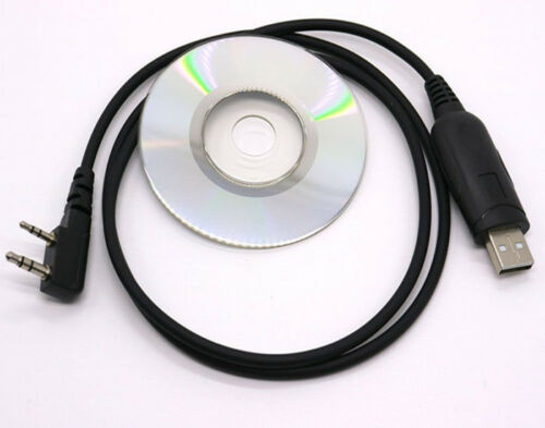 USB Programming Cable Tool Kit for BaoFeng Kenwood QuanSheng 2 Way Radios UHF US