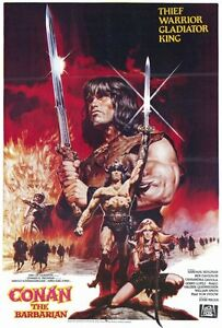 "CONAN THE BARBARIAN Movie Poster [Licensed-NEW-<wbr/>USA] 27x40"" Theater Size  (B)"