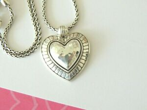 Brighton-BIG-SKY-HEART-Silver-Pendant-Necklace-new-tags-68