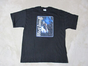 NEW-VINTAGE-Snoop-Dogg-Shirt-Adult-Extra-Large-Rap-Tee-Doggy-Dogg-Death-Row-Mens