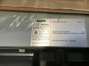 New Old Stock Sanyo Sap243tl Mini Split Evap Ebay