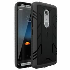POETIC [Heavy Duty] Complete Protection Hybrid Case for ZTE AXON 7 (2016) Black