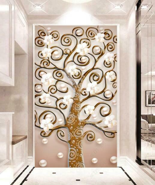 3D Abstract Tree I2258 Wallpaper Mural Sefl-adhesive Removable Sticker Kid Wendy
