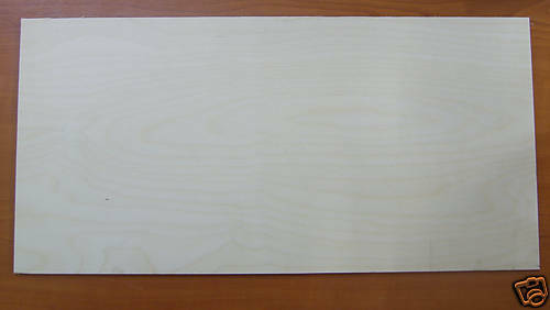 Quality Birch Plywood Panel 1220mm x 610mm x 6mm PLY//H4