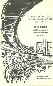 Jose-Greco-amp-His-Company-of-Spanish-Dancers-Program-April-4-1964