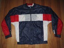 Vintage Le Coq Sportif Full Zip France Germany Soccer Jacket Size L
