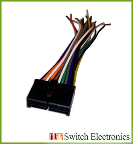 Details about  /20 Pin JENSEN VX7010 /& VX7020  Player Auto Stereo Wiring Harness Cable