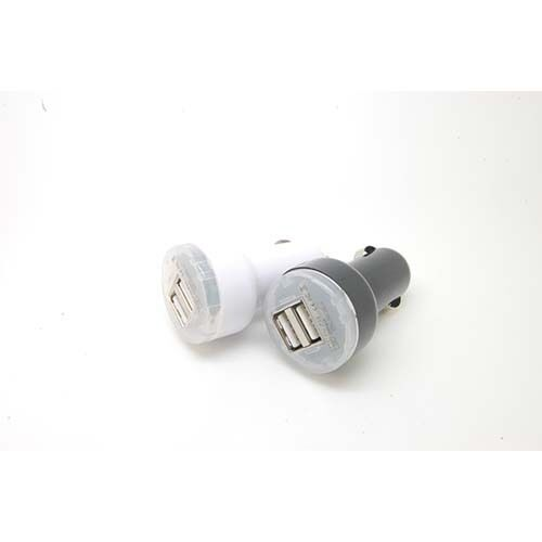 2.1A Dual 2 PORT USB Car Auto Chargers Adaptor for apple iPAD iPhone 2 3GS 4G 4S