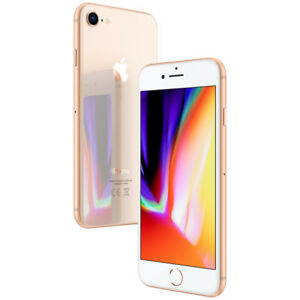 Apple-iPhone-8-64GB-Gold-Ohne-Simlock-Smartphone-Handy-wie-NEU-WOW