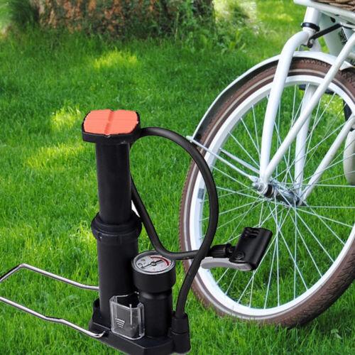 Gonfiare Mini Pompa A Pedale palloni Biciclette Lettini Palle Gonfiatore dfh j