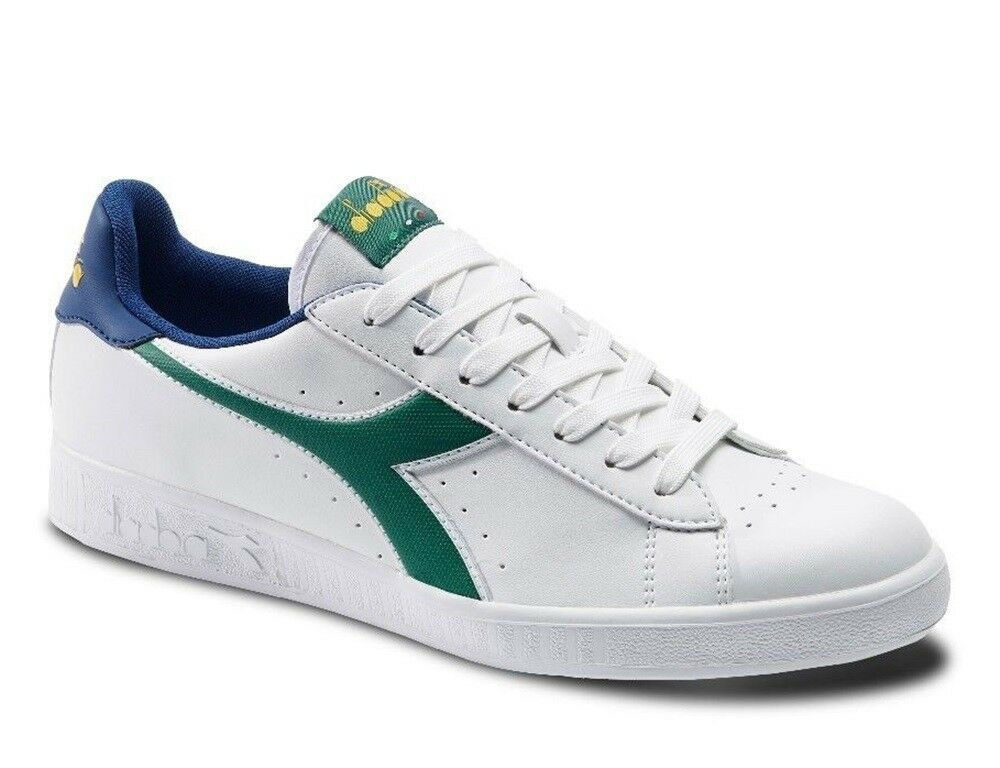 DIADORA GAME P sports shoes woman sneakers low casual white tennis running