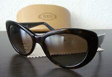TOD'S TO 143 52J Luxus Damen Sonnenbrille Brille Sunglasses Brown NEU mit ETUI