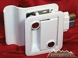 Fastec-RV-43610-Trailer-Camper-Entry-Door-Lock-Handle-Knob-with-Deadbolt-White
