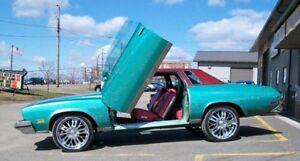 Vertical Doors Inc. Bolt-On Lambo Kit for Buick Regal 78-87