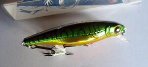Noeby-leurre-peche-mer-riviere-8cm-9-2g-nage-jusqu-039-a-2m-vert-maquereau-perche