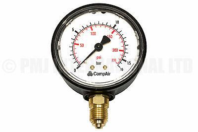 Hydraulics, Pneumatics, Pumps & Plumbing Genuine Gardner Denver Pressure Gauge 98288/10 230psi 16bar Diversified In Packaging