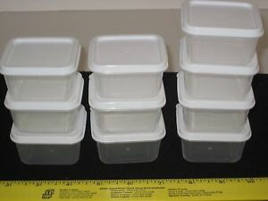 Sure fresh 10 mini storage containers w lids arts crafts for Craft storage boxes with lids