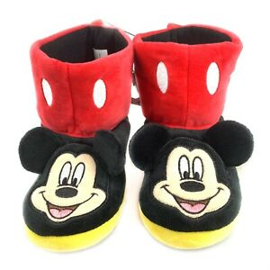 Mickey Mouse Toddler Bootie Slippers