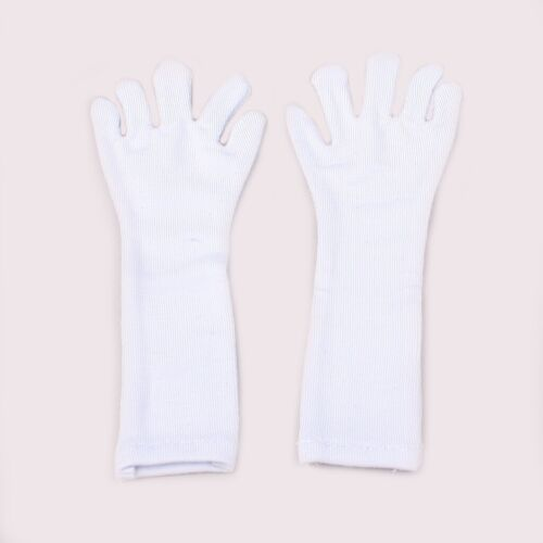 PF White Long Cloth Gloves For 1//3 SD AOD DZ LUTS BJD Dollfie