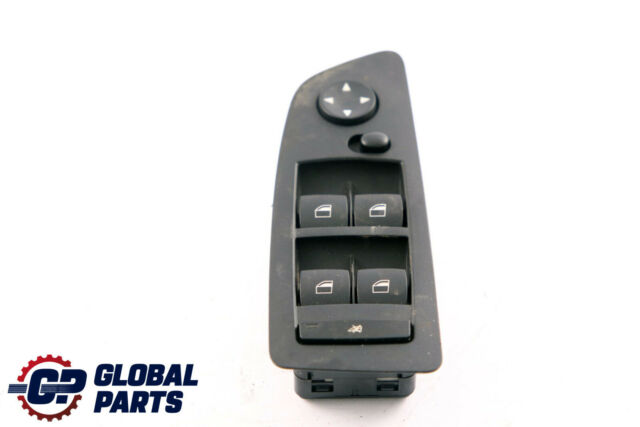BMW 1 Series E87 E87N Switch Window Lifter Driver's Side Right Black 6970221