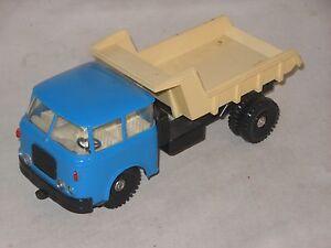 SKODA-Kipp-Camion-Color-Variante-plaho-60er-ANOS-VINTAGE-TOY-DDR