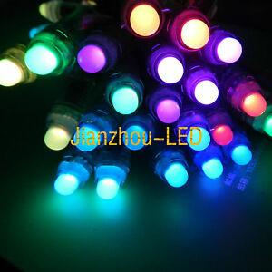 WS2811 WS2801 6803 1903 12MM LED Module String Light Exposed 5050 Point Source eBay
