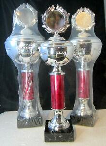1x-3er-Saeulen-Serie-Pokale-41-0-37-5cm-hoch-inkl-Gravur-u-Emblem-silber-rot
