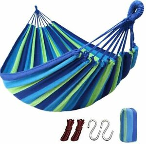 Portable Hammock Hanging Rope Chair Outdoor Beach Yard Camping Traveling bed