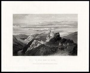 Art Prints Antique Print-jericho-israel-fenn-cousen-1874 Art