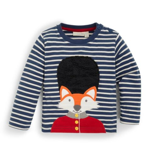 Jojo Maman Bebe Kids/' Fox London Guard Top Long Sleeve Shirt