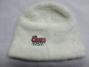 Coors-Light-beer-brewery-cap-hat-beanie-white