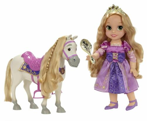 Disney Princess Rapunzel and Maximus Doll