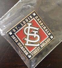 2015 St Louis Cardinals Baseball Season Ticket Holder Pin