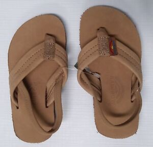 6a1e66f68ea Image is loading RAINBOW-SANDALS-Kids-Premier-Leather-Sandals-Sierra-Brown-
