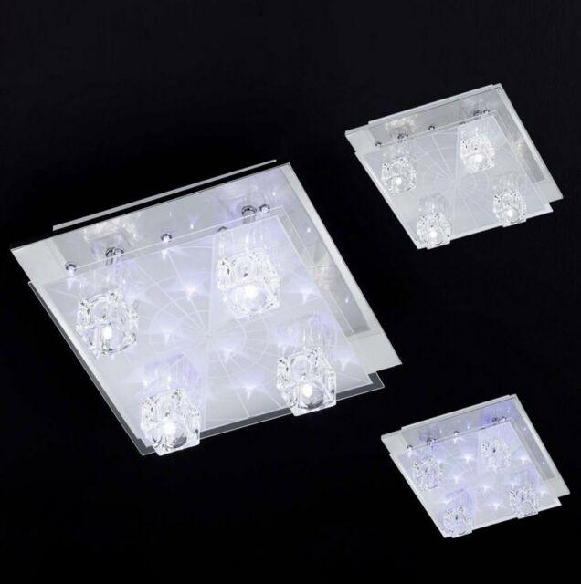 Deckenleuchte LED + G4 Wohnraumlampe Effekt Leuchte Wofi Colina 949905010000