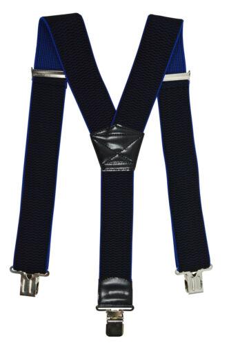 Thick Fabric Heavy Duty Y-Shape Braces//Suspenders 5cm Men/'s XXL Extra Wide