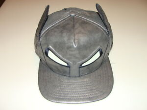 da66d4e6e14 New Era Cap Hat Character Armor Batman vs Superman Helmet Glow ...