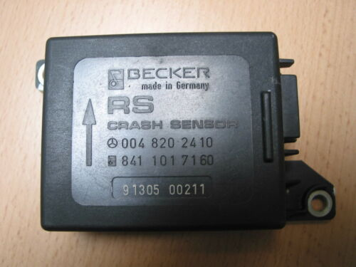 Mercedes Benz W124 W126 W201 Crashsensor Airbagsteuergerät 0048202410 84110171