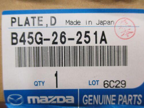 Mazda 3 2014-2017 New Genuine OEM Rear Disc Plate Rotor B45G-26-251A