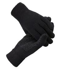 Magic GLOVES With Grip Adult Unisex   BLACK THERMAL MAGIC  WINTER GLOVES