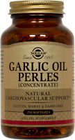 Solgar Garlic Oil Perles 250 Softgels Reduced Odor
