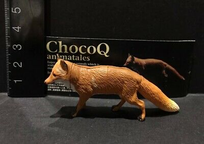 Kaiyodo Choco Q Animatales part 6 Ezo red fox figure US seller New