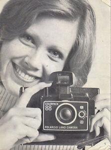 Polaroid Land Camera Manuale In Francese Tedesco E Italiano 1973 Molte Foto Belle En Couleur