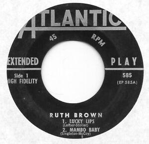RUTH-BROWN-rare-EP-585-on-Atlantic-R-amp-B-45-HEAR