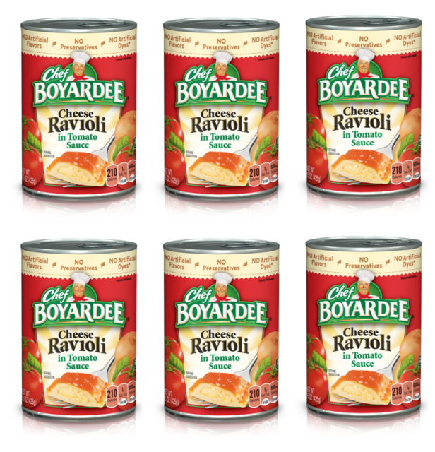 Best Tasting Tomatoes 2021 6 Pack Chef Boyardee Spaghetti Sauce With Meat Tomatoes Classic
