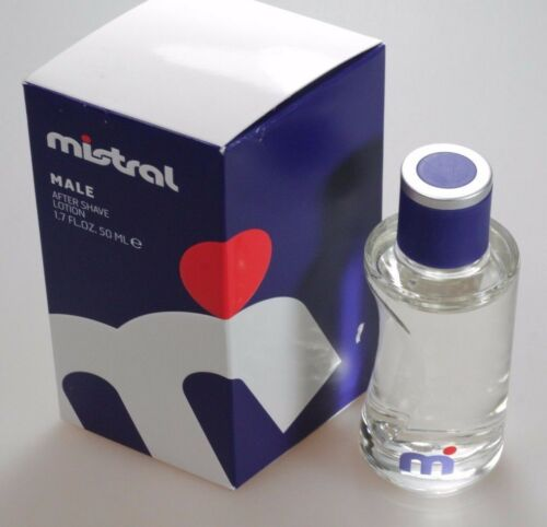 1 von 1 - Mistral MALE 50ml After Shave Lotion Neu / OVP