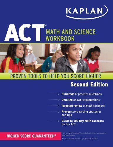 Kaplan ACT Math and Science Workbook (Kaplan Test